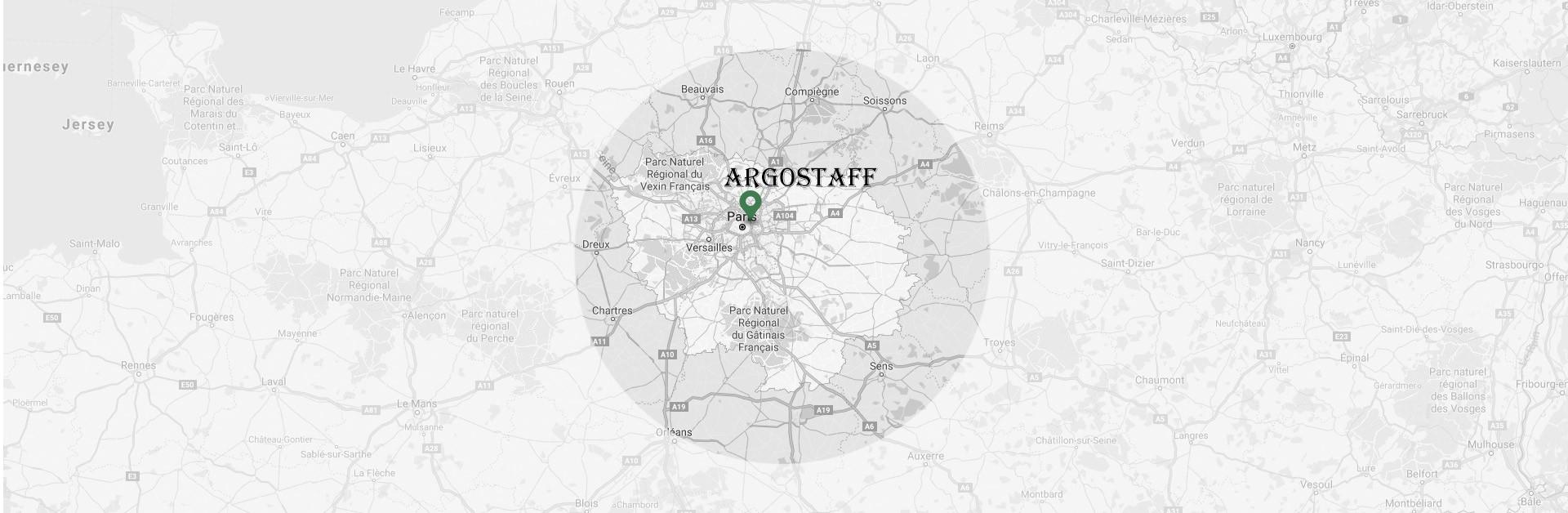 artisan intervient sur des corniches à Paris 20e | Argostaff
